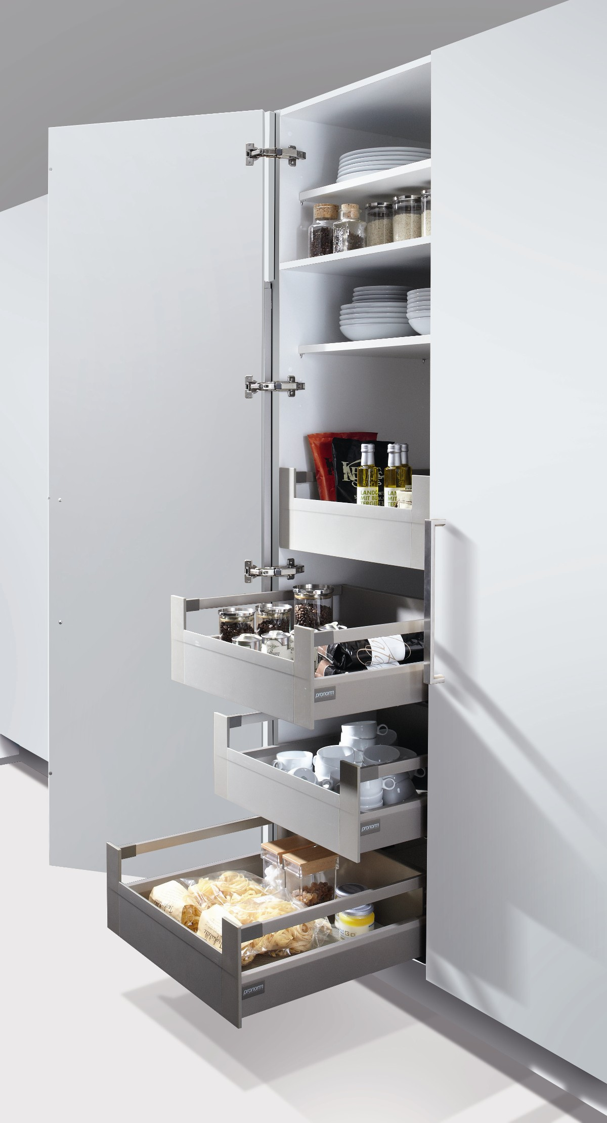 Larder Unit Pull out Drawers 300 / 450 / 600mm