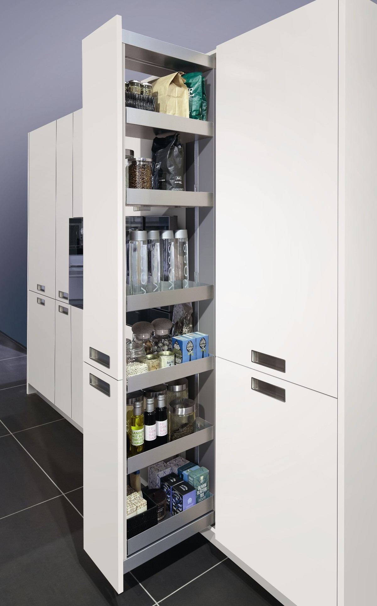 Larder unit Pull out system 300mm Width