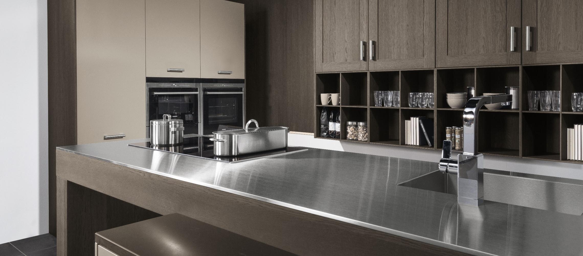 Sepia Oak / stone Grey