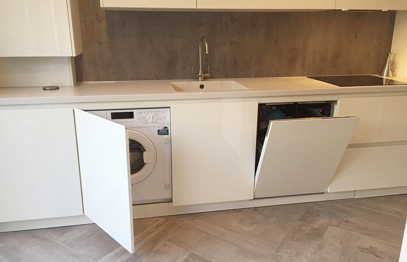 Integrated Washing Machine & Dishwasher