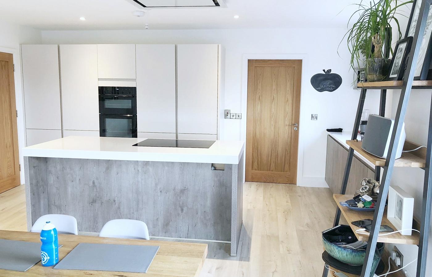 matt Light Grey kitchen