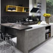 Sepai Oak / Cement grey